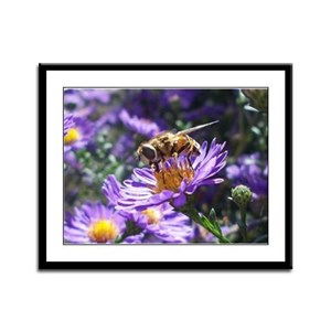 Bee Yourself Framed Panel Print