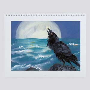 Bird Wall with 12 painting images Calendar