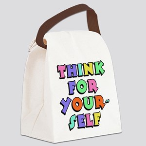 Think For Yourself Canvas Lunch Bag