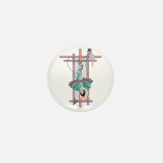 The Hanged Woman Mini Button