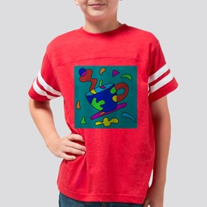 coffee-abstract Youth Football Shirt