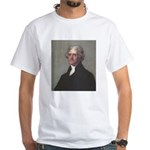 Jefferson Foreign Relations White Tee