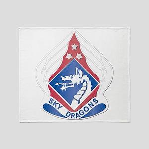DUI - XVIII Airborne Corps Throw Blanket