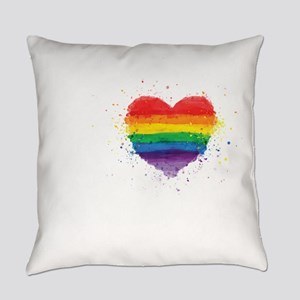 Gay Pride - I Love My Papi Chulo Everyday Pillow