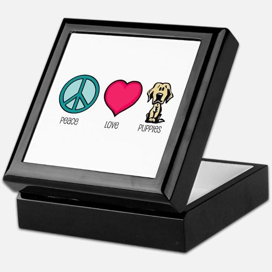 Peace Love & Labs Keepsake Box