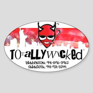 Totally Wicked logo Sticker