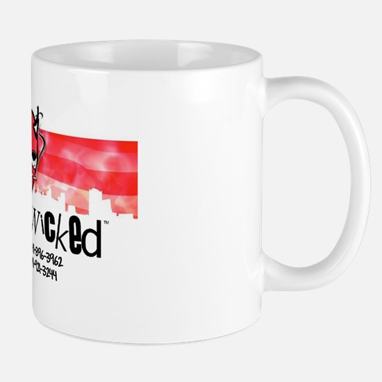 Totally Wicked logo Mugs