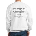 Jefferson Foreign Relations Sweatshirt