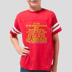 blk_Freedom_Speech_Sheep Youth Football Shirt