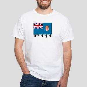 Fiji White T-Shirt