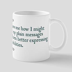 Austen Quote Mugs