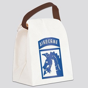 SSI - XVIII Airborne Corps Canvas Lunch Bag