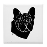 Frenchie Pup Tile Coaster