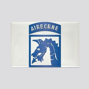 SSI - XVIII Airborne Corps Rectangle Magnet