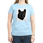 Frenchie Pup Women's Pink T-Shirt