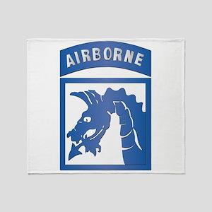 SSI - XVIII Airborne Corps Throw Blanket