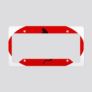 Cool Year of the Snake License Plate Holder