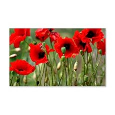 Poppy-Red Poppies Wall Decal