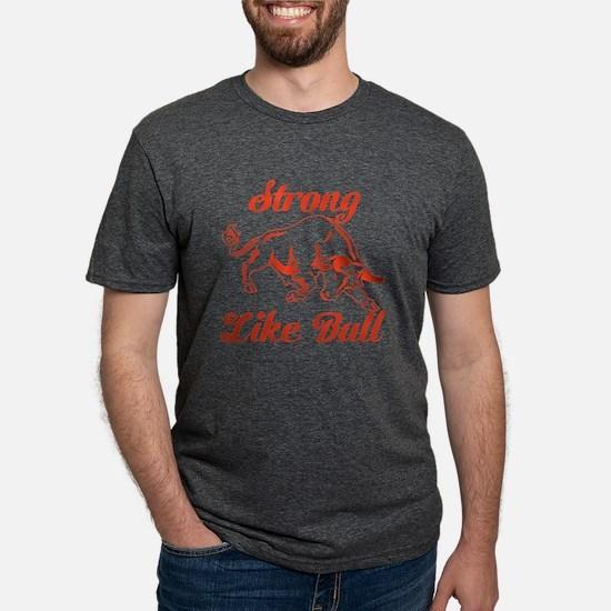 Funny Bull Mens Tri-blend T-Shirt