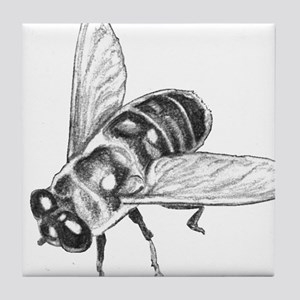 Honey Bee Art Tile Coaster