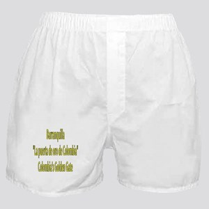Barranquilla Colombia Boxer Shorts