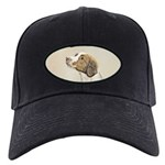 Brittany Black Cap with Patch