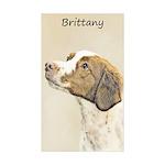 Brittany Sticker (Rectangle 10 pk)