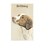 Brittany Sticker (Rectangle 50 pk)