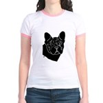 Frenchie Pup Jr. Ringer T-Shirt