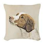 Brittany Woven Throw Pillow