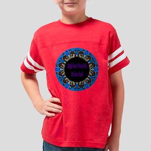 Corgis Leave Pawprints-Tri Youth Football Shirt