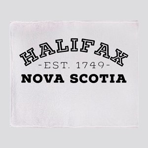 Halifax Nova Scotia Throw Blanket