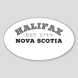Halifax Nova Scotia Sticker