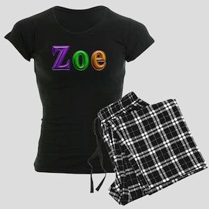 Zoe Shiny Colors Pajamas