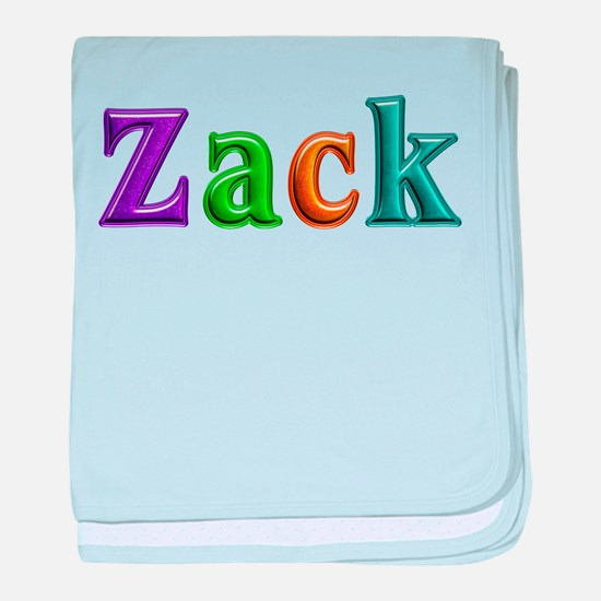Zack Shiny Colors baby blanket
