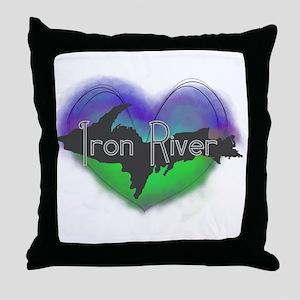 Aurora Iron River Throw Pillow