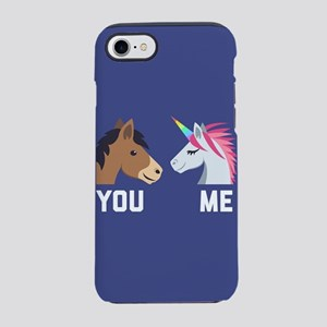 You VS Me Unicorn Emoji iPhone 7 Tough Case