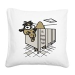 Its Hump Day Square Canvas Pillow