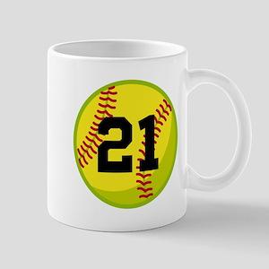 Softball Sports Personalized Mug
