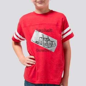 Asphalt Cowboy Trucker Shirt Youth Football Shirt