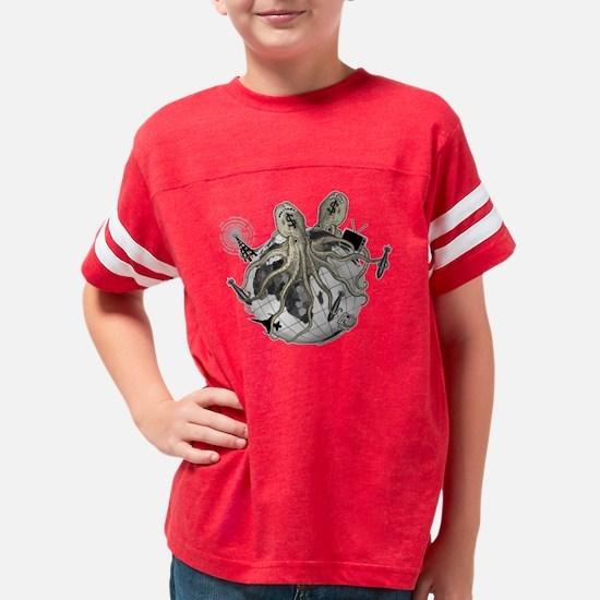 octopus_media Youth Football Shirt