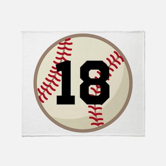 Baseball Sports Personalized Throw Blanket