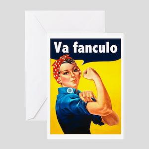 Va Fanculo Greeting Card