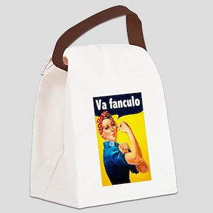 Va Fanculo Canvas Lunch Bag