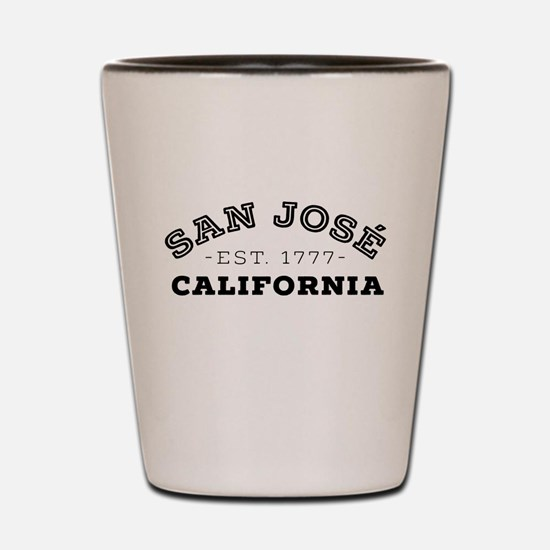 San José California Shot Glass