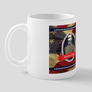 Braxton Bragg Historical Mugs