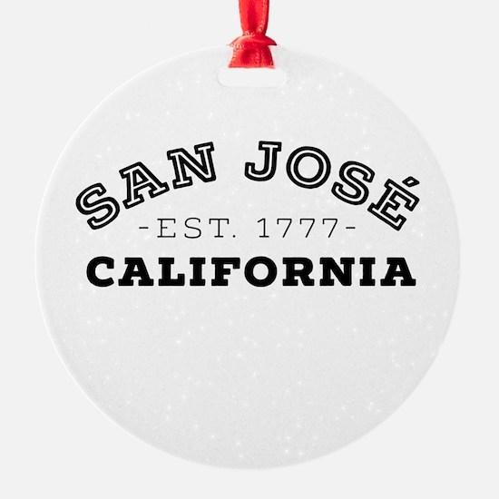 San José California Ornament