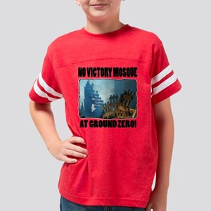 no victory mosque Youth Football Shirt