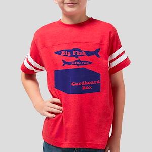 Big Fish Navy Youth Football Shirt