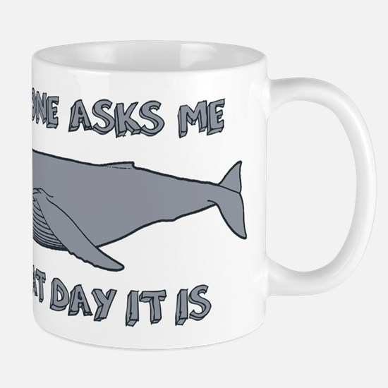 Sad Hump Day Humpback Mugs
